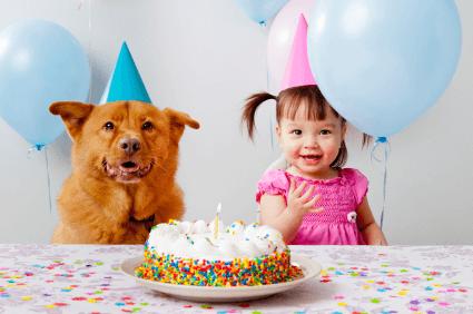 kinderfeestjes per leeftijd