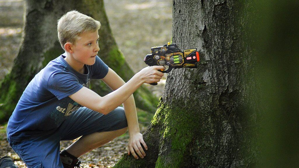 Lasergamen in je eigen tuin