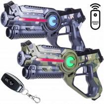 laserguns met anti valsspelen afstandsbediening en chip