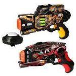 lasergamen verhuur pistolen