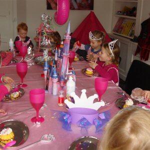prinsessenfeest kinderen