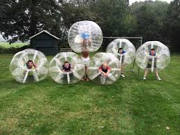 bubbel voetbal kinderfeestje teams