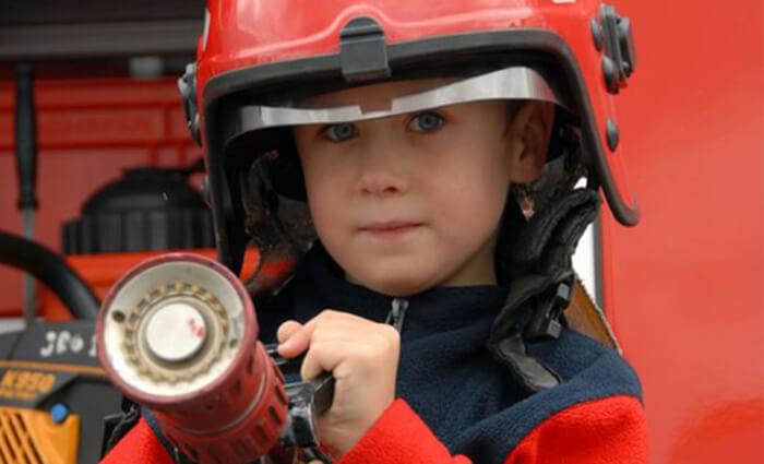brandweerfeestje kinderfeestjes 3 jaar en 4 jaar