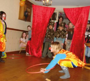 circusfeestje act