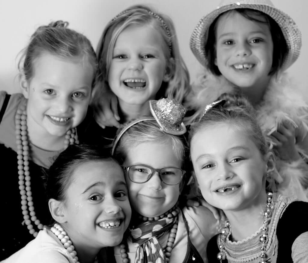 Kinderfeestjes 7 jaar meisjes, meiden en jongens