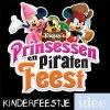 piratenfeest prinsessenfeest