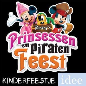 Wonderbaar Themakist combi prinses en piraat - Kinderfeestje Idee KM-53