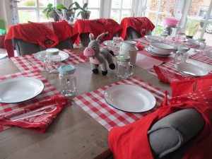 tafelaankleding in stijl