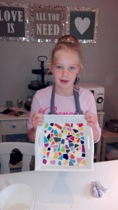 creatieve kinderfeestjes mozaïken