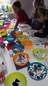 mozaïeken kinderfeestje