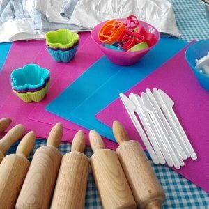 cupcakes maken kinderfeestje themakist