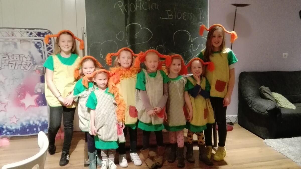 De Pippi's in de leuke outfits