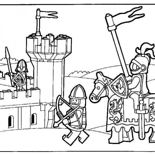 ridder kleurplaat