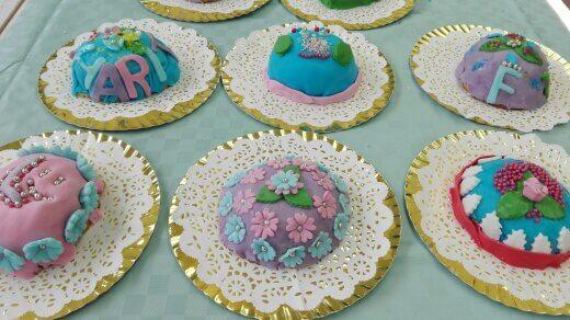 boltaartjes maken kinderfeestje eindresultaat 18