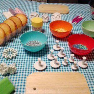 boltaartjes maken kinderfeestje themakist