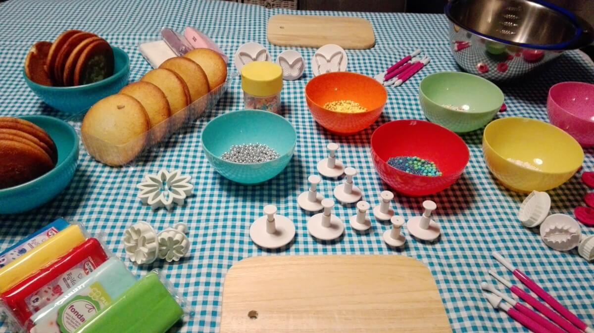 Voorkeur Boltaartjes maken kinderfeestje - pakket - Kinderfeestje Idee &VD22
