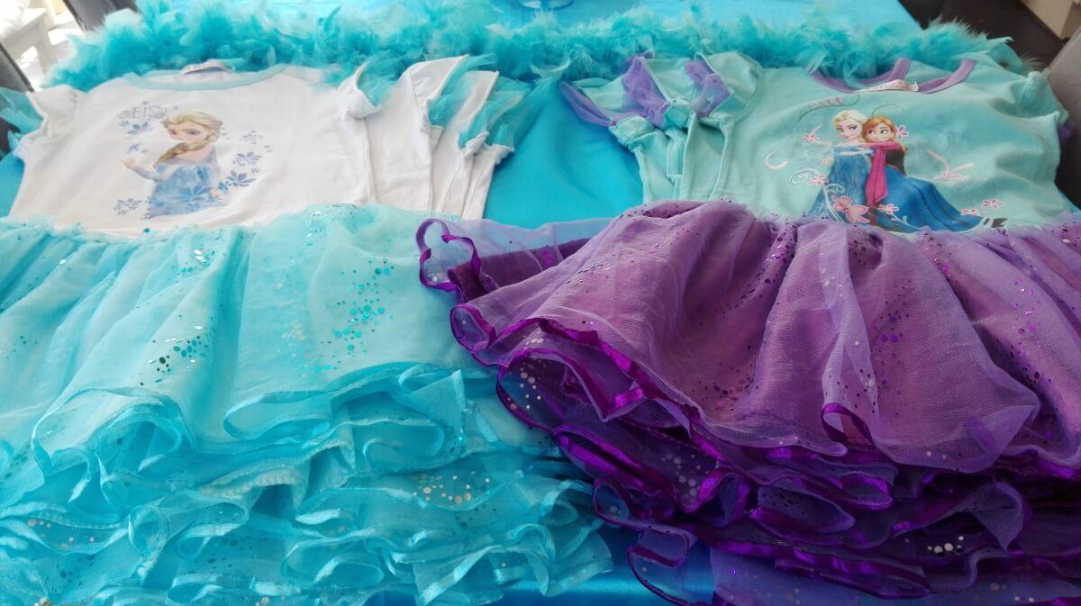 Mooie verkleedkleren Frozen