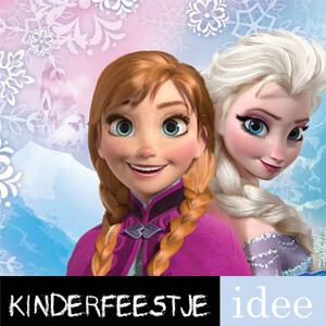 Frozenfeestje thema kinderfeestje frozen