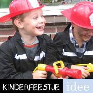 brandweerfeestje thema kinderfeestje