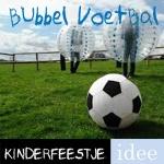 bubbel voetbal kinderfeestje actief feestje