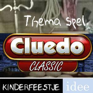 cluedo kinderfeestje thema kinderfeestje levend cluedo