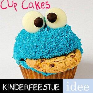 Cupcake Pakket Koekiemonster Friends Kinderfeestje Idee