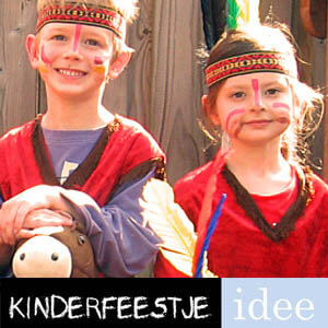 indianenfeest thema kinderfeestje indianen