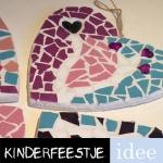 mozaïeken kinderfeestje creatief