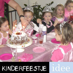 meisjes 6 jaar kinderfeestje prinses