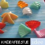 zeepketting maken kinderfeestje creatief feestje
