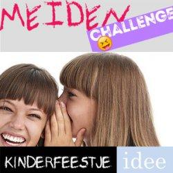 Meiden challenge tienerfeestje
