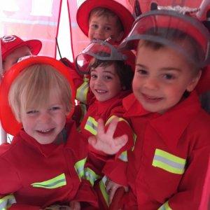brandweer kinderfeestje