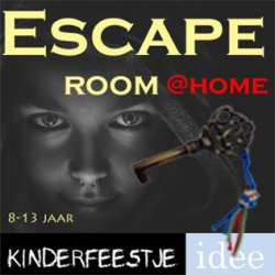Escape room thuis themakist