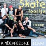 Skate kindereestje thuis met begeleiding