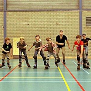 inline skate feestje kinderfeestje idee