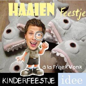 Haaien feestje_Freek Vonk kinderfeestje