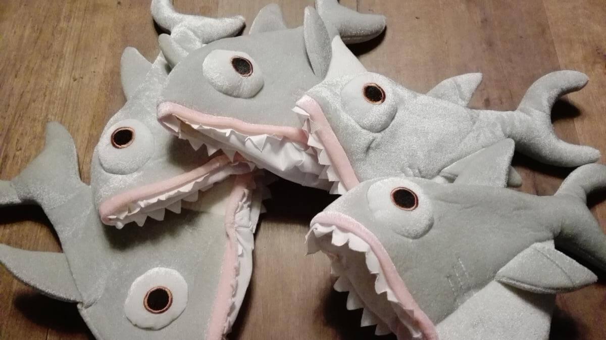 Let op een haai!