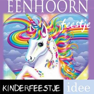 unicorn kinderfeestje themakist