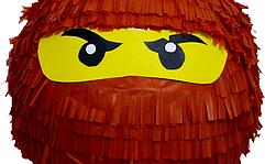 lego ninjago feestje pinata