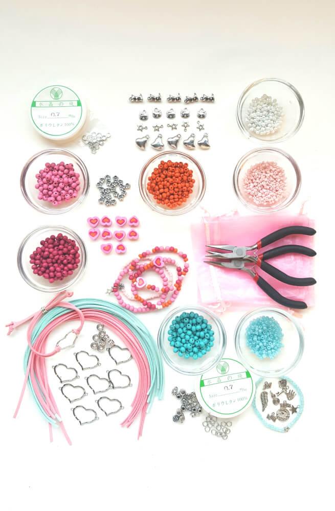 sieraden maken pakket kinderfeestje