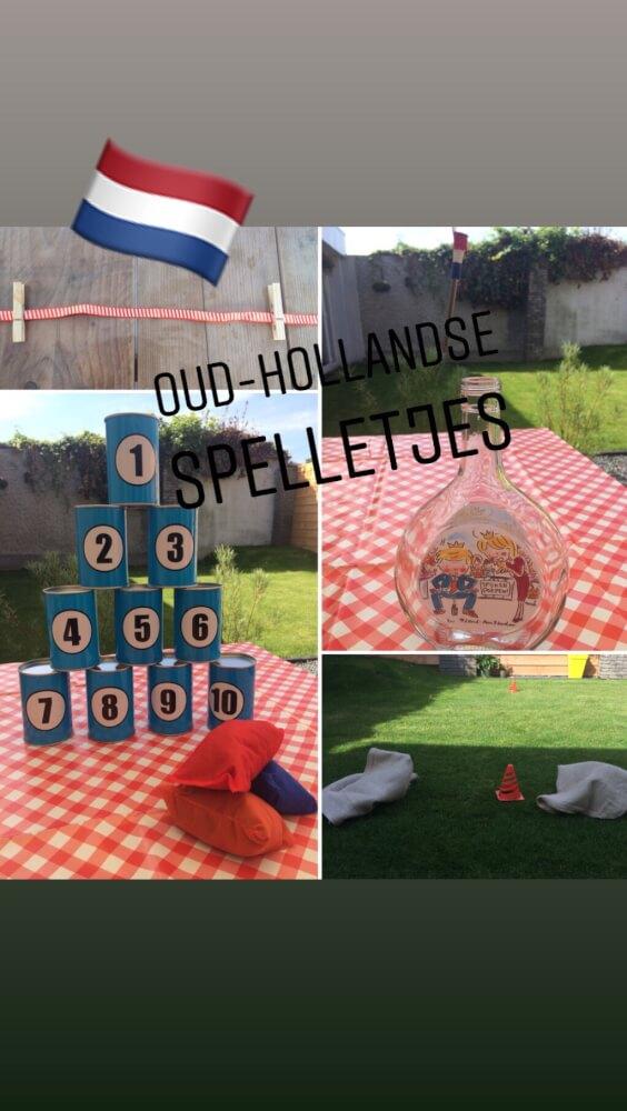 speel ook gezellige de oude Hollandse spelletjes!