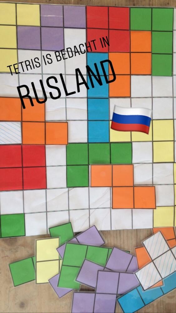 de leukste tetris spel uit Rusland!