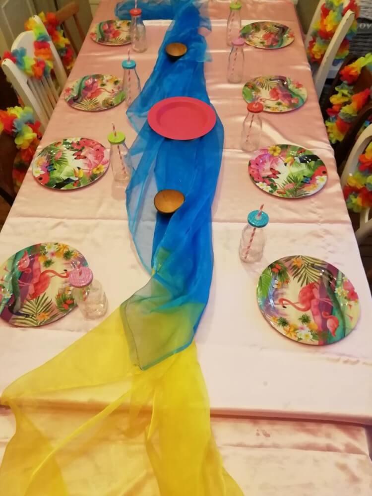 Mooie tafelaankleding