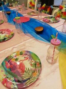 Flamingo tafelversiering