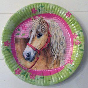 paardenfeestje borden