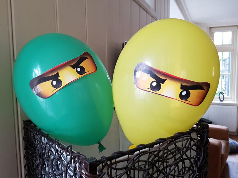 Ninjago balloons