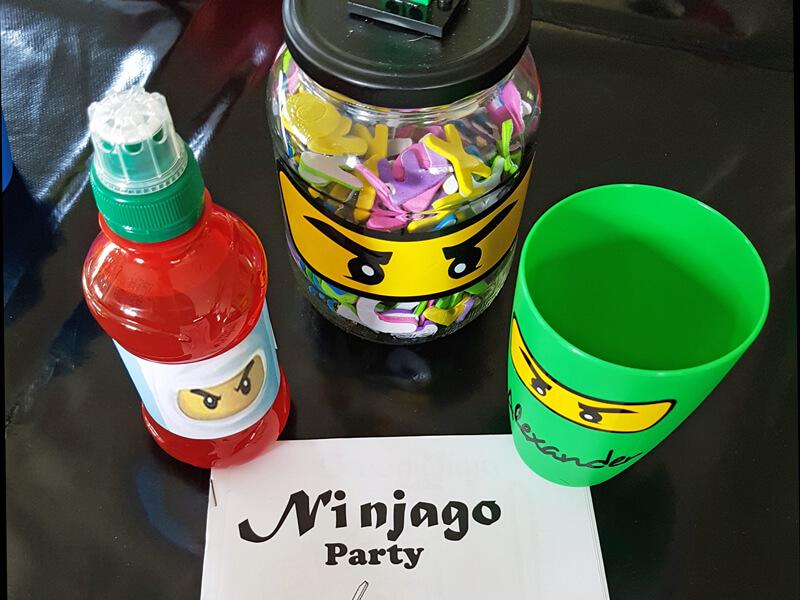 Tijd voor de Ninjago party!