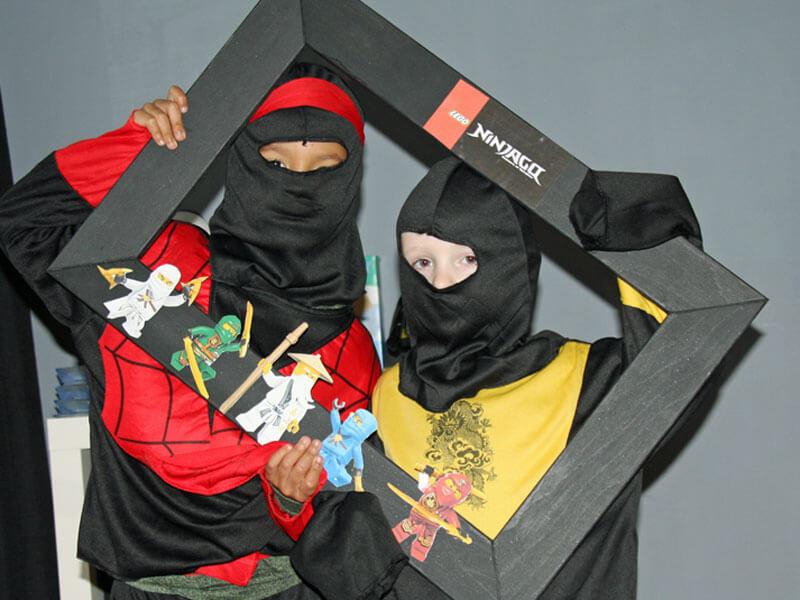 ninjago feestje