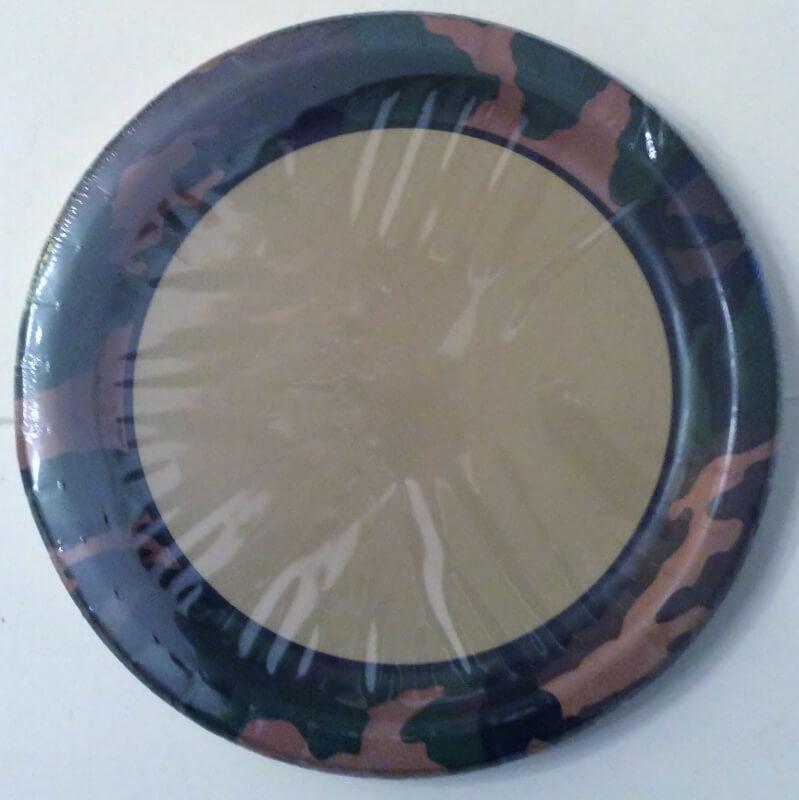 camouflageborden 8 stuks