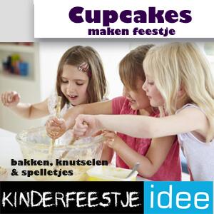 cupcake maken feestje